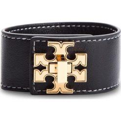 Bransoletka TORY BURCH - Logo SIngle Wrap Bracelet 47740 Black 001. Czarne bransoletki damskie na nogę Tory Burch. W wyprzedaży za 449,00 zł.