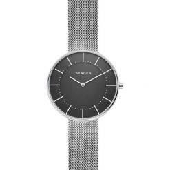 Zegarek SKAGEN - Gitte SKW2561 Silver/Steel/Black. Szare zegarki damskie Skagen. Za 499,00 zł.