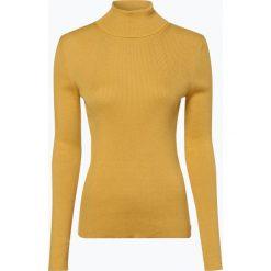 Swetry klasyczne damskie: Marc O'Polo - Sweter damski, żółty