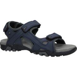 Granatowe sandały na rzepy American BIF0072. Czarne sandały męskie American, na rzepy. Za 79,99 zł.