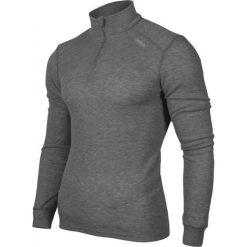 Odlo Koszulka Shirt turtle neck 1/2 zip Warm szara r. L (152002/15700). Szare koszulki sportowe męskie marki Odlo. Za 147,74 zł.