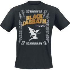 Black Sabbath The End Cover Frame T-Shirt czarny. Czarne t-shirty męskie Black Sabbath, m. Za 74,90 zł.