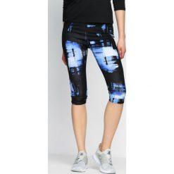 Spodnie damskie: Niebieskie Legginsy Good Shot