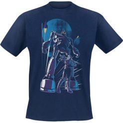 T-shirty męskie z nadrukiem: Ready Player One Iron Giant T-Shirt granatowy