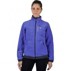 Kurtka polarowa w kolorze fioletowym. Fioletowe kurtki damskie marki Peak Mountain, z materiału. W wyprzedaży za 68,95 zł.