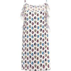 Sukienki hiszpanki: Sisley VESTITO Sukienka letnia white