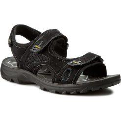 Sandały GINO ROSSI - Jarvis MN2376-TWO-BNTK-9999-T 99/99. Czarne sandały męskie skórzane marki Gino Rossi. W wyprzedaży za 129,00 zł.