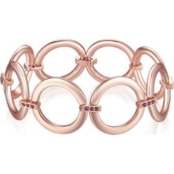 Bransoletki damskie na nogę: Pozłacana bransoletka z kryształkami Swarovski