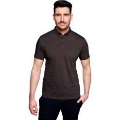 Koszulki polo: koszulka polo serra brąz