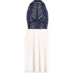 Sukienki hiszpanki: Lace & Beads ARRIANE SKATER Sukienka koktajlowa navy/white