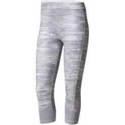 Adidas Legginsy Tf C Macrohth Grey/Print/Matte Silver L. Szare legginsy skórzane marki Adidas, l. W wyprzedaży za 109,00 zł.