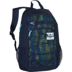"""Torebki i plecaki damskie: Plecak """"Base"""" w kolorze granatowo-zielonym - 30 x 48 x 17 cm"""