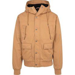 Urban Classics Hooded Cotton Jacket Kurtka zimowa brązowy (Camel). Niebieskie kurtki męskie zimowe marki Urban Classics, l, z okrągłym kołnierzem. Za 324,90 zł.