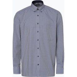 Eterna Comfort Fit - Koszula męska niewymagająca prasowania, zielony. Zielone koszule męskie non-iron Eterna Comfort Fit, m, z bawełny, z dekoltem karo. Za 229,95 zł.