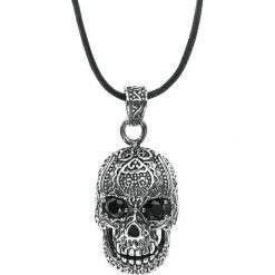 EtNox Hard and Heavy Black Eyed Skull Wisiorek + Rzemyk standard. Czarne wisiorki damskie etNox Hard and Heavy. Za 74,90 zł.