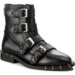 Botki BRONX - 46994-A BX 1433 Black 01. Czarne buty zimowe damskie marki Bronx, z materiału. W wyprzedaży za 349,00 zł.
