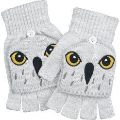 Rękawiczki damskie: Harry Potter Hedwig Rękawiczki bez palców szary