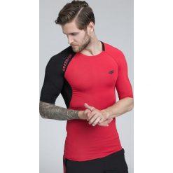 Odzież termoaktywna męska: Koszulka treningowa męska TSMF260 - czerwony