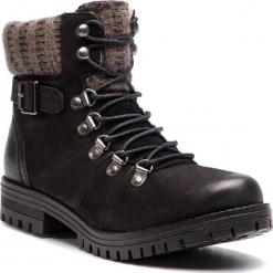 Trapery LASOCKI - WI07-A721-A588-03 Czarny. Czarne buty zimowe damskie Lasocki, z materiału. Za 199,99 zł.