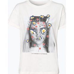 Review - T-shirt damski, zielony. Szare t-shirty damskie marki Review, l, z tkaniny, z okrągłym kołnierzem. Za 39,95 zł.
