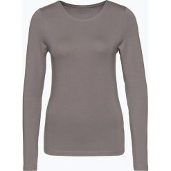 Franco Callegari - Damska koszulka z długim rękawem, szary. Zielone t-shirty damskie marki Franco Callegari, z napisami. Za 89,95 zł.