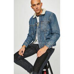 Calvin Klein Jeans - Kurtka. Szare kurtki męskie bomber Calvin Klein Jeans, l, z bawełny. Za 749,90 zł.