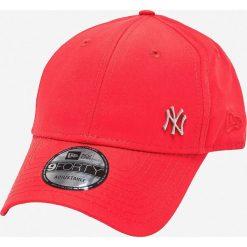 New Era - Czapka. Czerwone czapki z daszkiem męskie New Era. Za 89,90 zł.