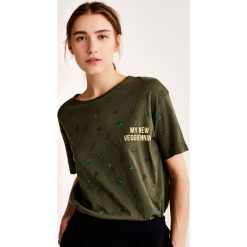 T-shirty damskie: Koszulka z nadrukiem allover