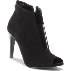 Botki KARINO - 2647/003-P Czarny. Fioletowe buty zimowe damskie marki Karino, ze skóry. W wyprzedaży za 189,00 zł.