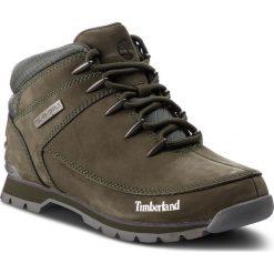 Trapery TIMBERLAND - Euro Sprint Hiker A1VR9/TB0A1VR9A581 Grape Leaf. Zielone botki męskie Timberland, z gumy. W wyprzedaży za 469,00 zł.