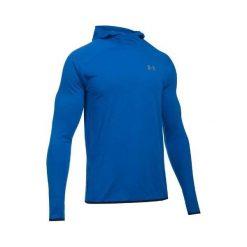 Bejsbolówki męskie: Under Armour Bluza męska Streaker Pull-Over Hoody niebieska r. L (1285042-907)