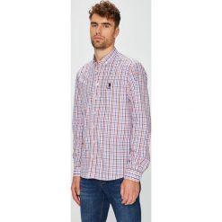 U.S. Polo - Koszula. Czarne koszule męskie na spinki marki TOM TAILOR DENIM, l, z bawełny, button down, z długim rękawem. W wyprzedaży za 279,90 zł.