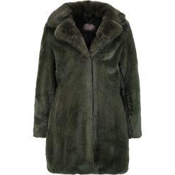 Płaszcze damskie pastelowe: Aaiko FOXY NEW Płaszcz zimowy lizard green