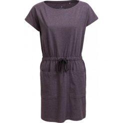 Sukienka SUDD600 - ciemny szary melanż - Outhorn. Szare sukienki Outhorn, na lato, melanż, z bawełny, sportowe, sportowe. W wyprzedaży za 54,99 zł.