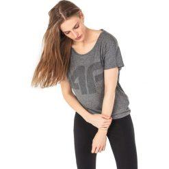 4f Koszulka damska H4L18-TSDF005 szara r. M. Szare bluzki damskie marki 4f, l. Za 80,43 zł.