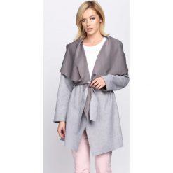 Płaszcze damskie: Szary Płaszcz Relating