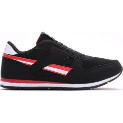 Czarno-Czerwone Buty Sportowe Always Be Happy. Czarne buty sportowe chłopięce Born2be, z materiału, z okrągłym noskiem, na sznurówki. Za 59,99 zł.