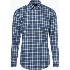 BOSS - Koszula męska – Jenno, zielony. Czarne koszule męskie na spinki marki Boss, m. Za 549,95 zł.