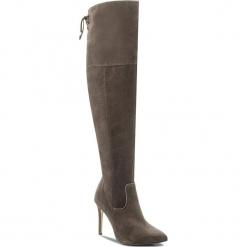 Muszkieterki EVA MINGE - Jacinta 2A 17SF1372452EF 866. Brązowe buty zimowe damskie marki Eva Minge, ze skóry, na obcasie. W wyprzedaży za 499,00 zł.