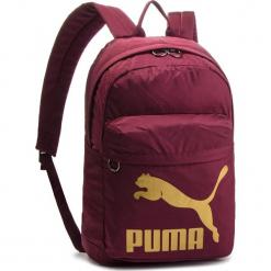 Plecak PUMA - Originals Backpack 074799 11 Fig/Gold. Czerwone plecaki męskie Puma, z materiału. Za 139,00 zł.
