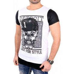 T-shirty męskie: CRSM T-shirt męski biały r. M (16006-2)