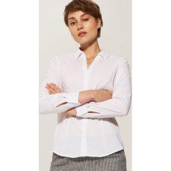 Koszula slim - Biały. Białe koszule damskie marki House, l. W wyprzedaży za 39,99 zł.