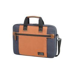 Torby na laptopa: Produkt z outletu: Torba na laptopa SAMSONITE Sideways 15,6″ Niebiesko-pomarańczowy