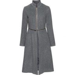 Płaszcz z zamkiem bonprix ciemnoszary. Szare płaszcze damskie pastelowe bonprix. Za 239,99 zł.