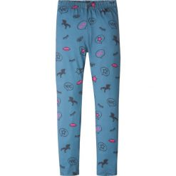 Jeansy dziewczęce: Legginsy bonprix niebieski dżins