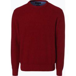 Andrew James - Sweter męski, czerwony. Czerwone swetry klasyczne męskie Andrew James, l, z bawełny. Za 179,95 zł.