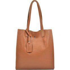Torebka w kolorze koniaku - (S)31 x (W)33 x (G)9 cm. Brązowe torebki klasyczne damskie Bestsellers bags, z materiału. W wyprzedaży za 219,95 zł.