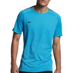 Nike Koszulka męska Squad Top niebieska r. XL (859850-434). Białe koszulki sportowe męskie marki Adidas, l, z jersey, do piłki nożnej. Za 89,00 zł.