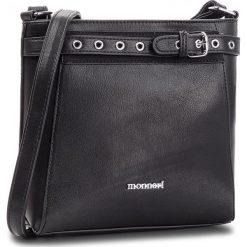 Torebka MONNARI - BAG8770-020 Black. Czarne torebki klasyczne damskie Monnari, ze skóry ekologicznej, zdobione. W wyprzedaży za 139,00 zł.