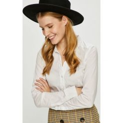Vero Moda - Koszula. Szare koszule damskie Vero Moda, l, z bawełny, klasyczne, z klasycznym kołnierzykiem, z długim rękawem. Za 119,90 zł.